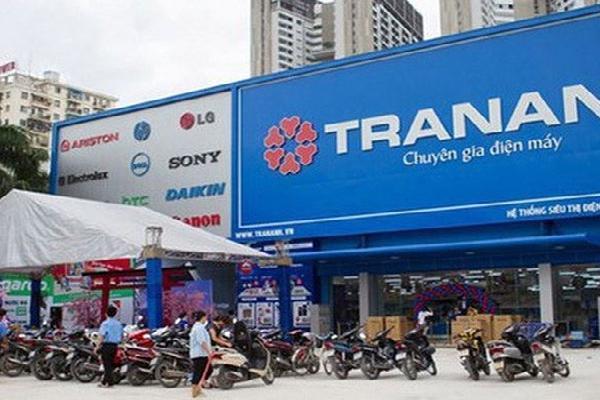 Cổ phiếu Trần Anh bị rơi vào diện cảnh cáo