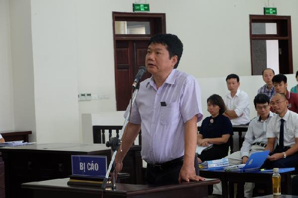 Ông Đinh La Thăng đề nghị được tuyên vô tội