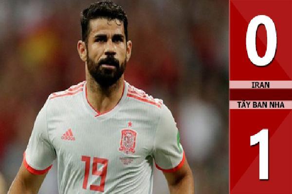 Iran 0-1 Tây Ban Nha (Bảng B - World Cup 2018)