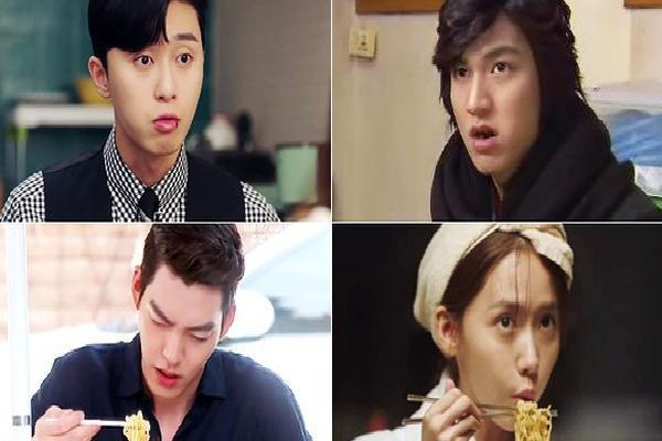 Logic phim Hàn: Hễ là tài phiệt thì sẽ được giác ngộ tình yêu với mì tôm