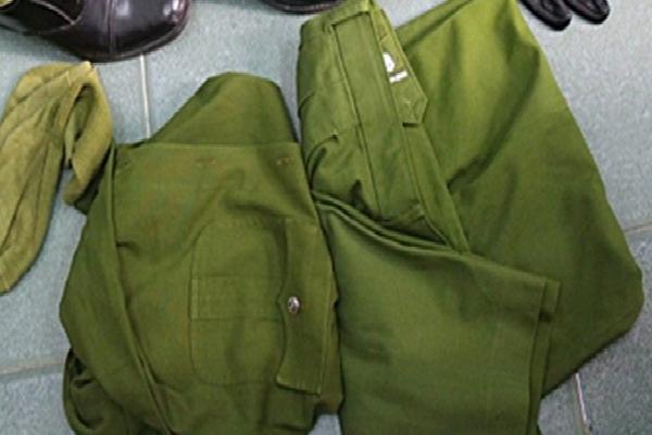 Đột kích kho quân phục công an 'khủng' ở Sài Gòn