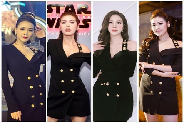 Diện lại chiếc vest trễ vai của Minh Tú, hot girl Sam 'lội ngược dòng' nhờ nhan sắc không tuổi