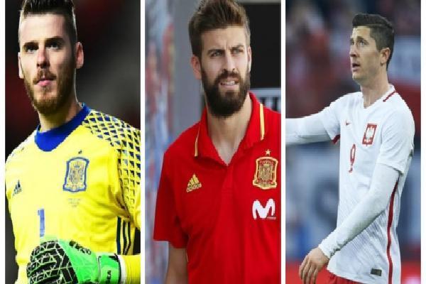 Top 5 'ông vua lười biếng' tại World Cup 2018