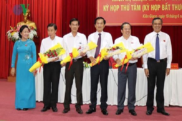 HĐND tỉnh Kiên Giang họp bất thường về công tác nhân sự