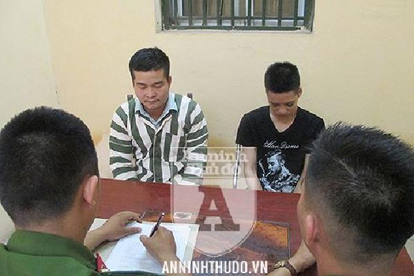 Hai kẻ cướp giật vừa ra tay đã gặp ngay phải… cảnh sát tuần tra Hà Nội