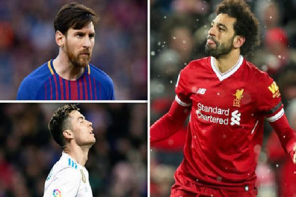 Salah vượt Ronaldo về số bàn thắng mùa này