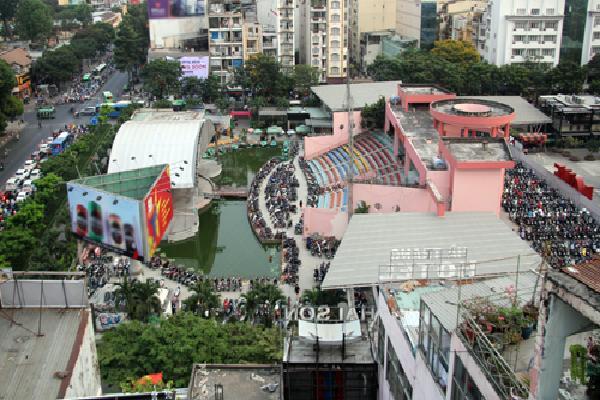 TP HCM dẹp các hoạt động bát nháo tại Công viên 23/9