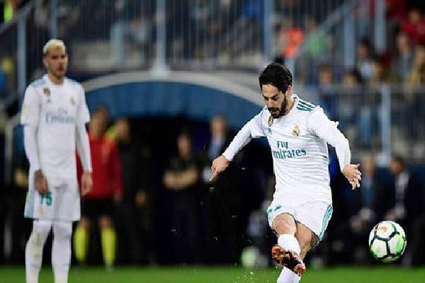 Real Madrid thắng nhọc Malaga trong ngày Ronaldo & Bale ngồi ngoài