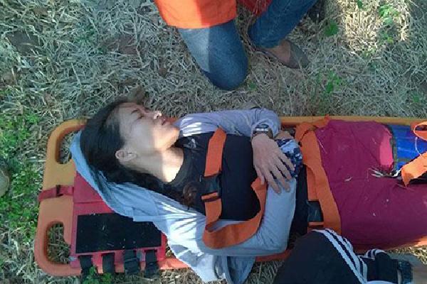 Cô gái Việt ngã xuống vách núi 300 mét khi chơi dù lượn ở Thái Lan