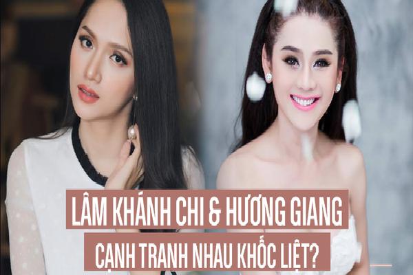 Hơn gần chục tuổi nhưng có vẻ như Lâm Khánh Chi chưa phải là 'đối thủ' của Hương Giang