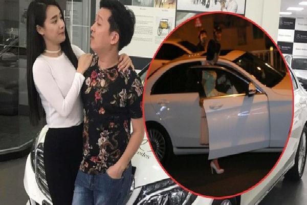 Giữa tin đồn chia tay, Nhã Phương vẫn đi xe 1,6 tỷ đồng do Trường Giang tặng?