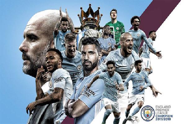 Man City san bằng kỷ lục vô địch sớm của Man United tại Premier League