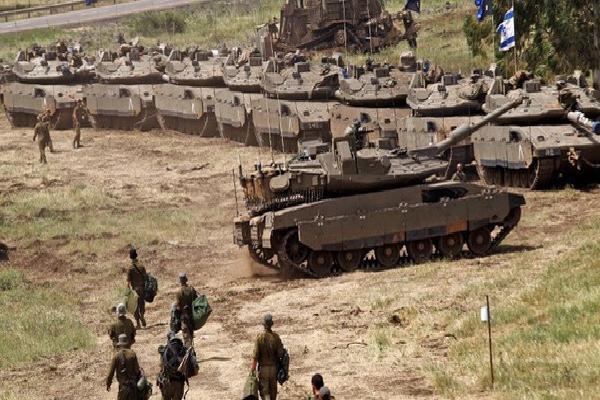 Israel dồn tăng, pháo áp sát biên giới Syria: Chuẩn bị tấn công - Chỉ chờ 1 'mồi lửa'?