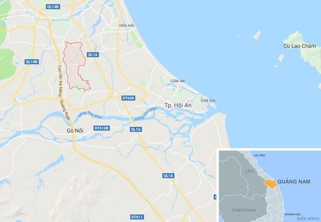 Thôn La Thọ 2, nơi xảy ra vụ cháy. Ảnh: Google Maps.
