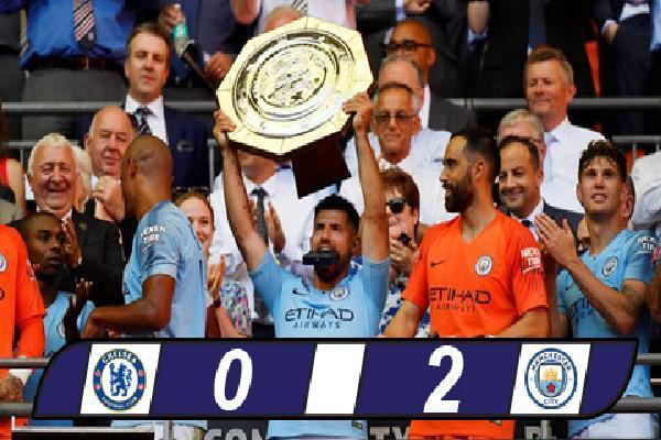Chelsea 0-2 Man City: The Blues lần thứ 7 liên tiếp thua ở Siêu cúp Anh