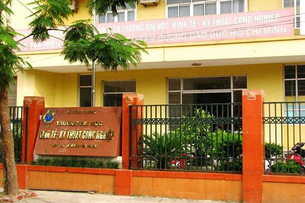 Đại học Kinh tế - Kỹ thuật công nghiệp lấy điểm chuẩn cao nhất là 18.5