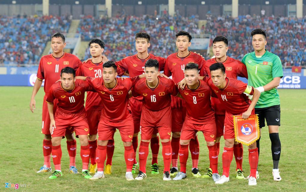 Chỉ cần không chấn thương, những cầu thủ thuộc thế hệ Thường Châu sẽ có suất tham dự ASIAD 18. Ảnh: Việt Hùng.