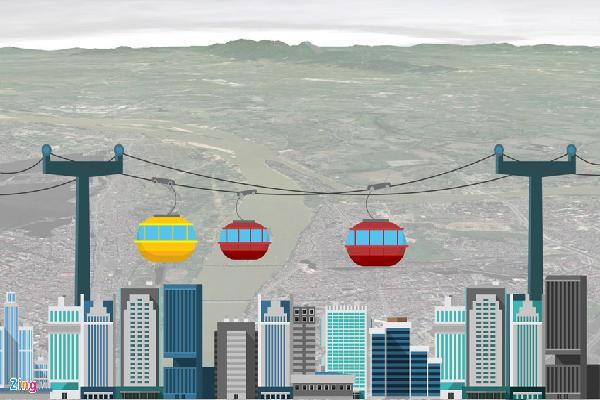 Chuyên gia phản bác ý tưởng cáp treo 1.300 tỷ vượt sông Hồng