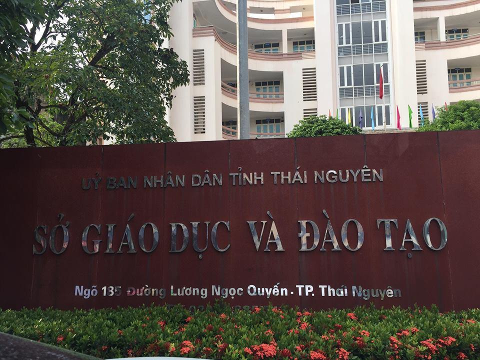 Sở GD&ĐT Thái Nguyên. Ảnh CL.