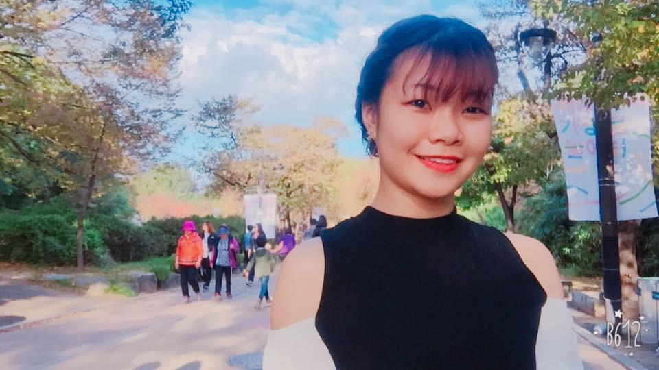 Quỳnh Anh-du học sinh Việt Nam tại Hàn Quốc