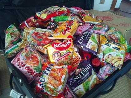 Mì gói - đặc sản không thể thiếu trong vali của mỗi du học sinh