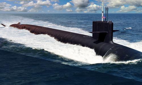 Bản mẫu thiết kế của siêu tàu ngầm lớp Columbia: Ảnh: USNI.
