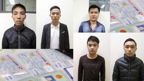 Một nhóm đối tượng chuyên lừa đảo bằng công nghệ cao bị cơ quan Công an bắt giữ.