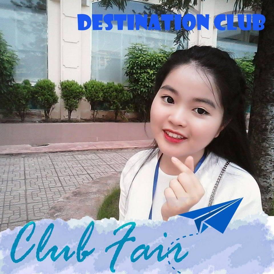 Nguyễn Thúy Quỳnh- chủ tịch CLB Du học, trường THPT chuyên Lê Hồng Phong-Nam Định