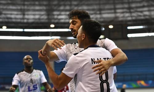 Thái Sơn Nam đã chơi quả cảm và giành quyền vào chung kết. Ảnh: AFC.