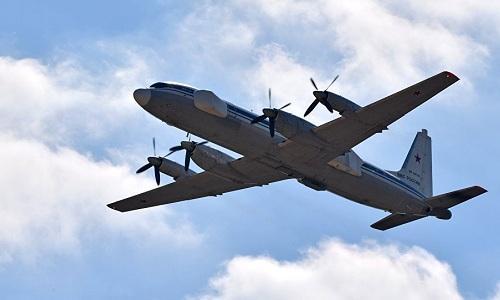 Một máy bay tác chiến điện tử Il-22PP Porubshchik của Nga. Ảnh: Sputnik.