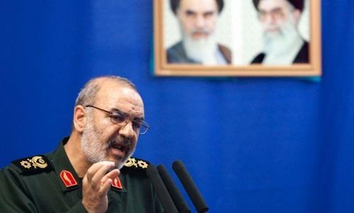 Trung tướng Hossein Salami, phó tư lệnh lực lượng Vệ binh Cách mạng Iran. Ảnh: Reuters.
