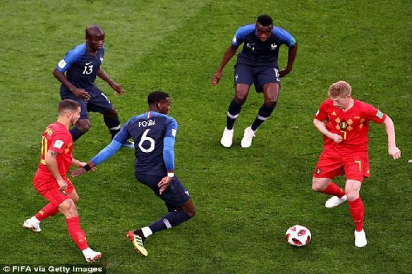 Pháp - Bỉ: Khoảnh khắc vàng, hiên ngang vào chung kết (World Cup 2018)