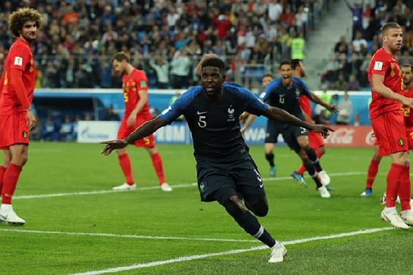 Pháp 1-0 Bỉ (Bán Kết World Cup 2018)