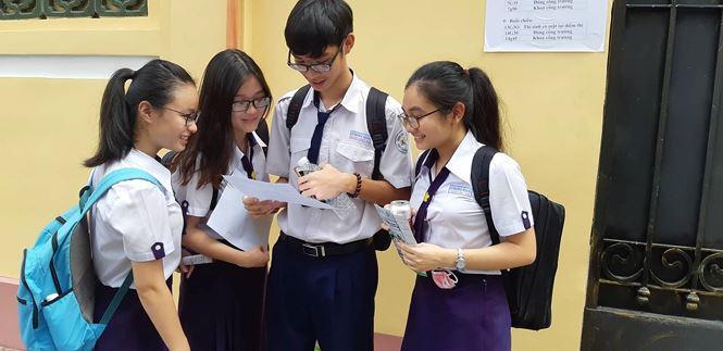 TPHCM chính thức công bố điểm thi THPT Quốc gia 2018 - ảnh 1
