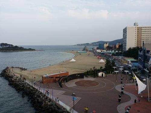 Một goc biển Ul-san, Hàn Quốc.