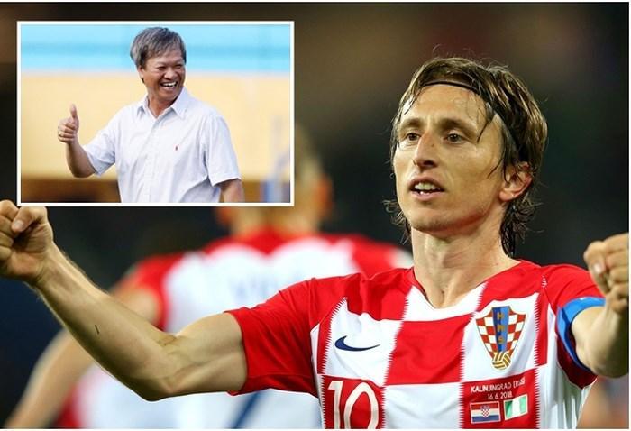 Ông Lê Thụy Hải đánh giá rất cao Luka Modric