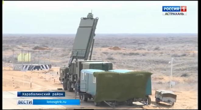 Radar cảnh giới nhìn vòng thế hệ mới trang bị cho hệ thống tên lửa S-500.