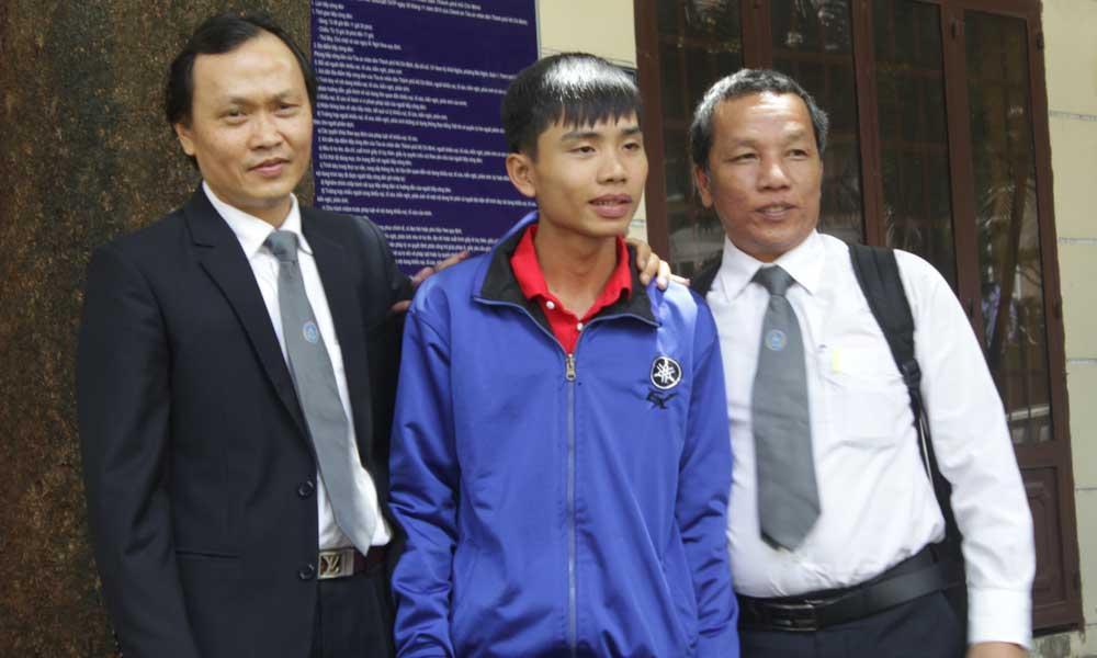 Đặng Thanh Tuấn vui mừng khi được tuyên vô tội