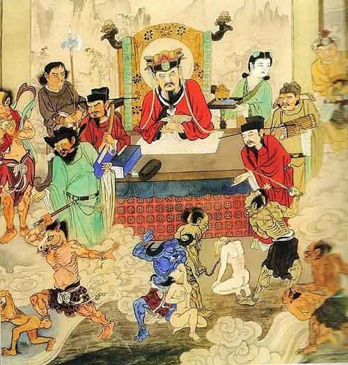 Hình ảnh Diêm Vương cai quản Quỷ Môn Quan. (Ảnh: Internet)