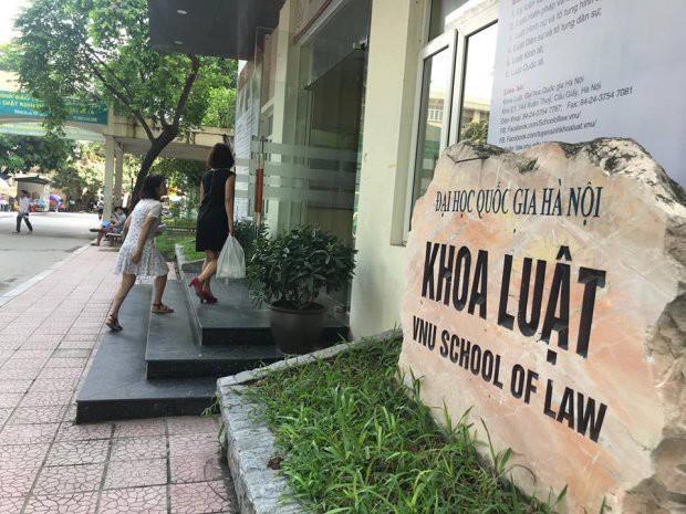 Khoa Luật, Đại học Quốc gia Hà Nội.