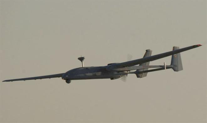 Một máy bay không người lái của KQ Israel