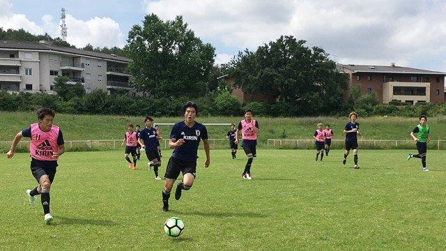 Nhật Bản dự Asiad 2018 với cầu thủ U21