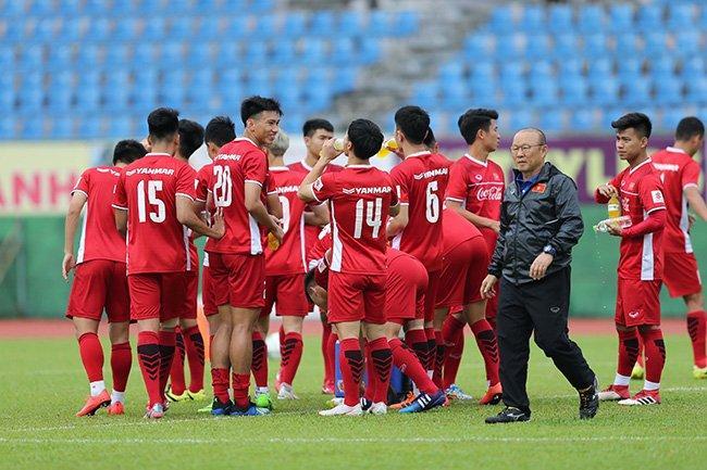 Thầy trò HLV Park Hang Seo có nhiều cơ hội ở Asiad 2018