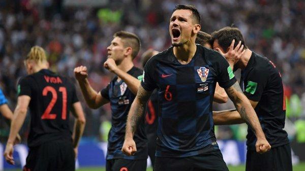 Croatia đang thể hiện tinh thần chiến đấu tuyệt vời trên đất Nga.