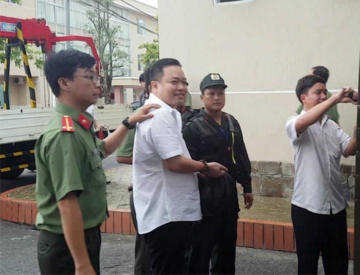 Nguyễn Huỳnh Đạt Nhân tại thời điểm bị Cơ quan ANĐT - Công an TP Cần Thơ bắt giữ