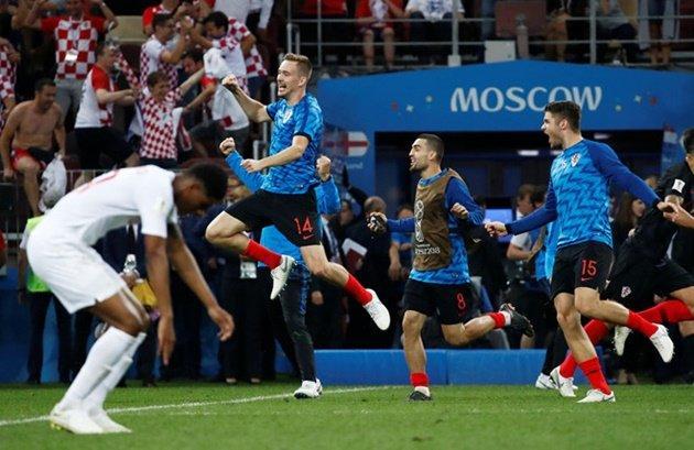Croatia bản lĩnh, đẳng cấp và kinh nghiệm hơn hẳn so với tuyển Anh.