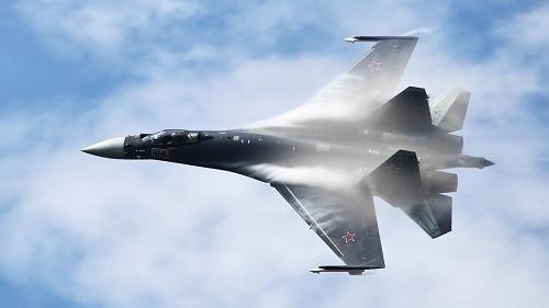 Chiến đấu cơ đa năng Su-35S của Nga. Ảnh :RBTH.