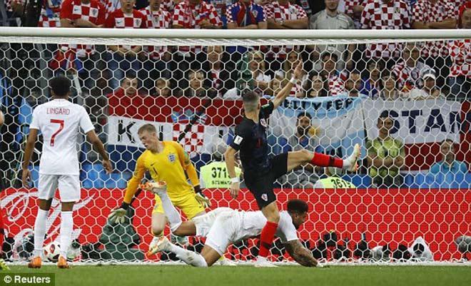 Croatia cho thấy tinh thần quả cảm