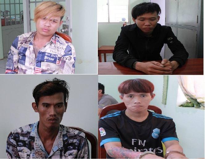 Các đối tượng trong băng cướp giật bị bắt