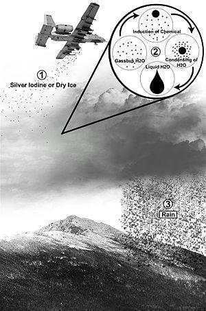 Minh họa quá trình gieo mây. Ảnh: Wiki